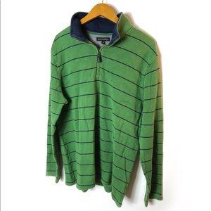 Banana Republic striped long sleeve knit XL